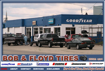 Bob and Floyd Tire sales